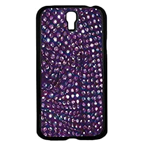 Purple Sequin Background Hard Snap on Phone Case (Galaxy s4 IV)