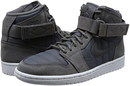 Strap Air Gris Chaussure High 005 Jordan Basketball 1 De Nike gris Homme Fonc Pour Platinum Pur Noir qwOUIw