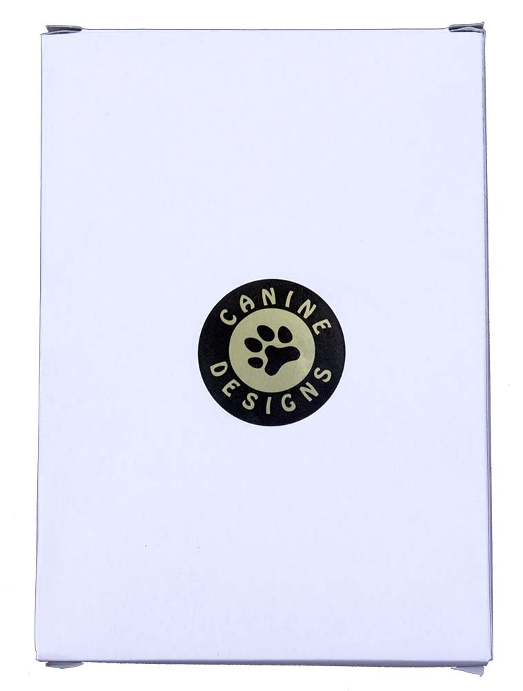 Italalian Greyhound Sticky Note Holder by Canine Designs