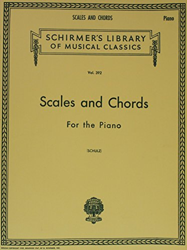 Scales And Chords For The Piano Major And Minor Keys
