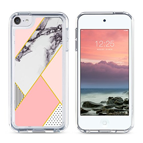 big sale a082a 5340b ULAK iPod Touch 6 Case,iPod 6 Case Marble,iPod Touch 6 Clear ...