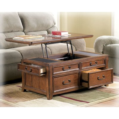 Woolwich Trunk Coffee Table With Lift Top Accent Furniture Framed Drawer Fronts Decorative Trunks Pack Of Two
