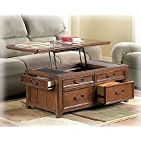 Woolwich Trunk Coffee Table with Lift Top - Accent Furniture -Framed drawer fronts- Decorative Trunks - (Pack Of Two)*