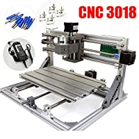 3018 GRBL control DIY mini CNC Carving Milling Engraving machine working area 30x18x4.5cm 3 Axis Pcb Milling machine,Wood Router, v2.5 from RATTM MOTOR