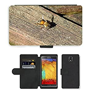 hello-mobile PU LEATHER case coque housse smartphone Flip bag Cover protection // M00136077 Abeja Buckfast abeja de la miel de // Samsung Galaxy Note 3 III N9000 N9002 N9005
