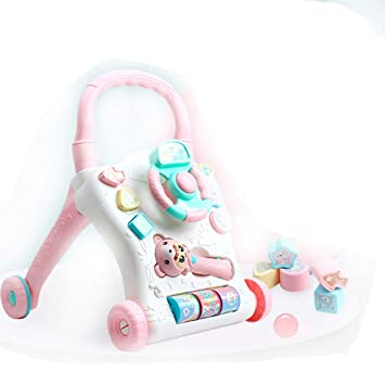 CX ECO Walkers Toys Portátil Baby Walker Stand & Walk Aprendizaje ...