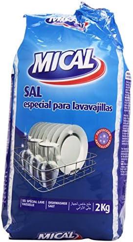 Mical Sal Especial para Lavavajillas - 2 Kg: Amazon.es: Amazon Pantry