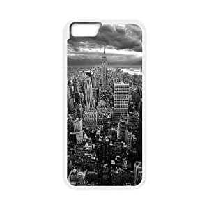 New York Empire State Building Black White iPhone 6 4.7 Inch Cell Phone Case White Protect your phone BVS_658748