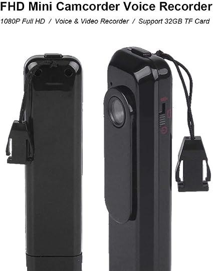 C181 1080P Mini Back Clip Video Recording Pen Without TF Card Boutique Durable