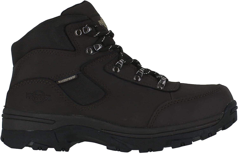 Ladies Walking/Hiking Boot, tormenta Totalmente Impermeable Lace Up Piel/Nailon Superior
