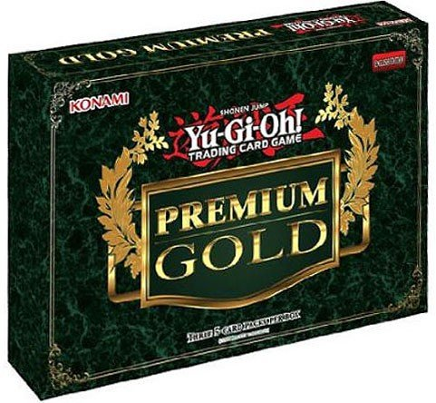 Yugioh 2014 Gold Series: Premium Gold Booster Mini-Box - 3 packs / 5 cards each! by Yu-Gi-Oh!