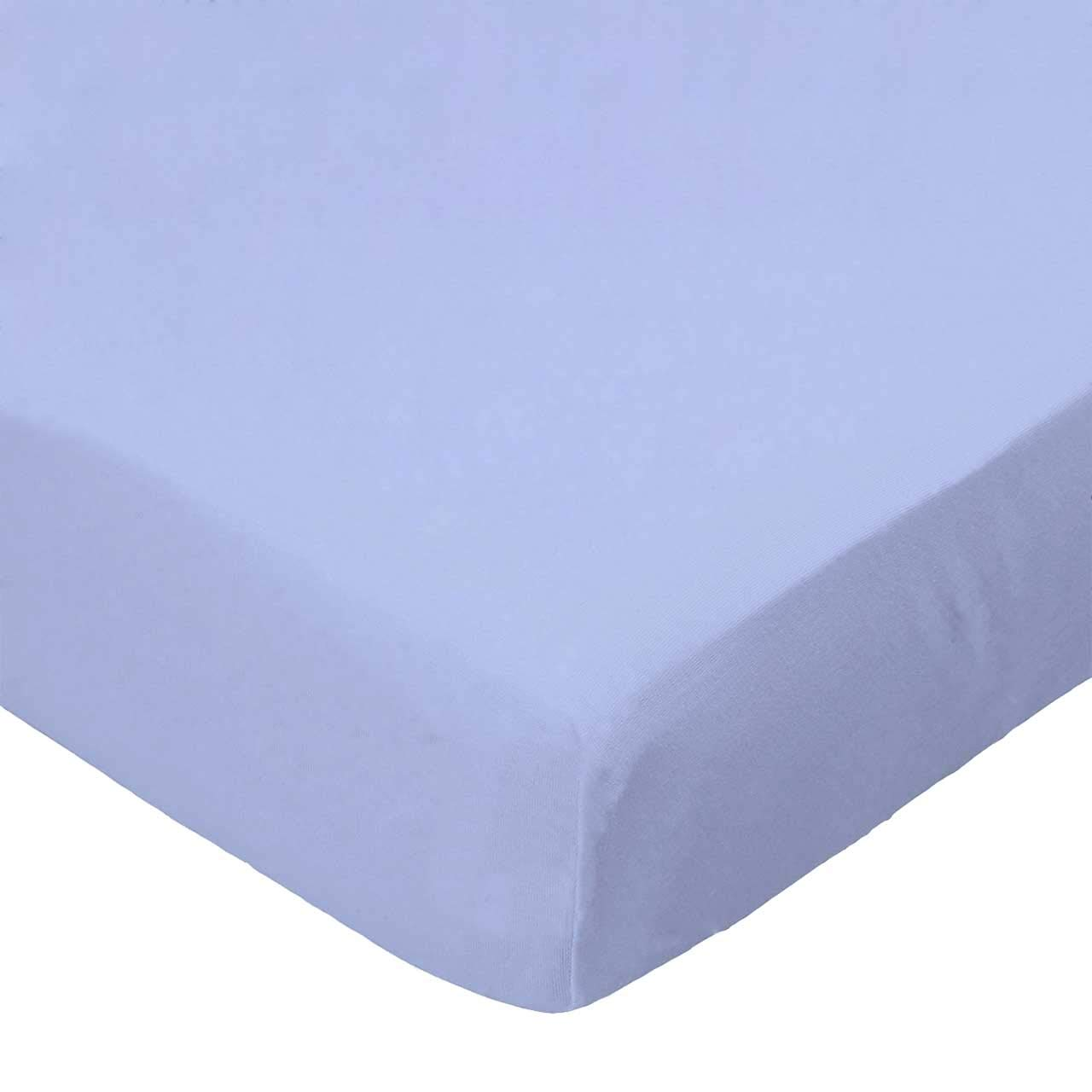 Dark Grey Woven Made In USA SheetWorld Fitted Portable Mini Crib Sheet