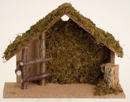 5'' Scale Medium Italian Nativity Stable by Fontanini