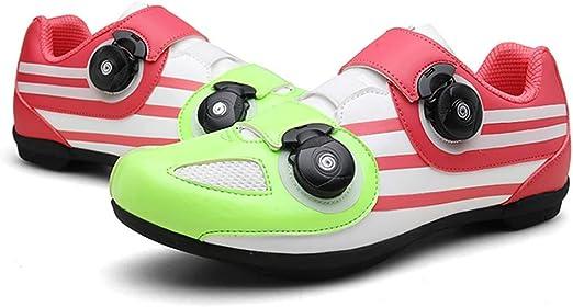 Zapatillas de Ciclismo de Carretera, Bicicleta con Giro ...