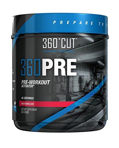 360PRE Energy Powder Fat Burner & Pre Workout Energy Supplem
