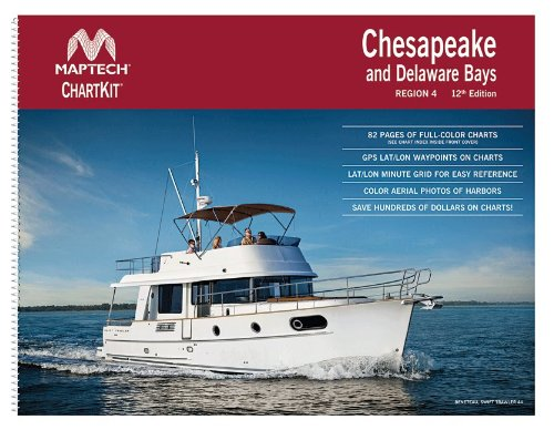 Maptech ChartKit Book w/ Companion CD - Chesapeake and Delaware Bays