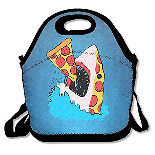 funny sea pizza shark lunch