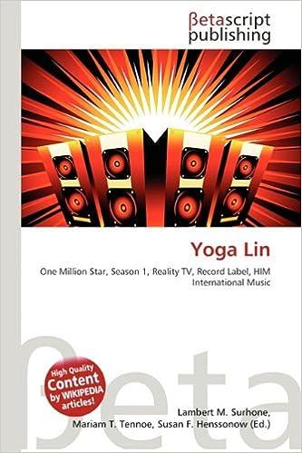 Yoga Lin: Amazon.es: Susan F Marseken, Lambert M Surhone ...