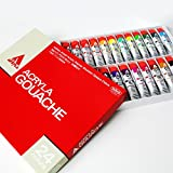 Holbein Acryla Gouache 20ml 24 colors tube set