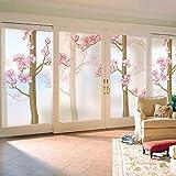WJY Sweet Home Window sticker bathroom living room bathroom bedroom balcony window sill light opaque glass film