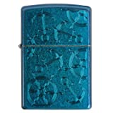 Zippo Cerulean Helms and Anchors Nautical Lighter 29251