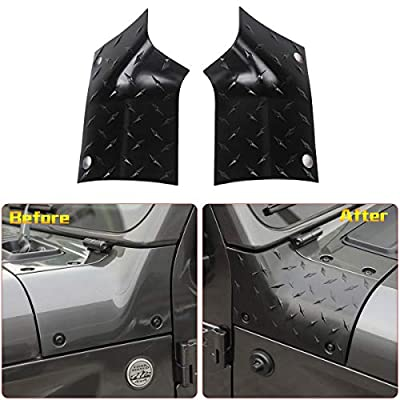 RT-TCZ Cowl Body Armor Cover Sport Exterior Accessories Parts for Jeep Wrangler MOBA Rubicon Sahara Sport Sport S 2020 2020: Automotive