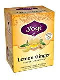 Yogi Teas Lemon Ginger, 16 Count (Pack of 6)