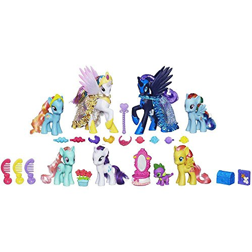 51dxDJsFnDL - My Little Pony: Friendship is Magic - Midnight in Canterlot Pony Exclusive Collection