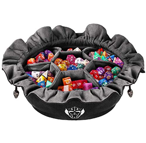 CardKingPro Immense Dice Bags with Pockets