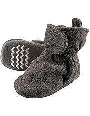 Hudson baby Baby Boys' Cozy Fleece Booties Slipper Sock