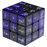 Mathematics Gift Toys-Fidget Spinner Cube-Mathematical Formula Cube Puzzle Spinner Anti-Anxiety Fidget Toys for Kids Audlts-Blue