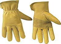 Custom Leathercraft Top Grain Goatskin Work Gloves