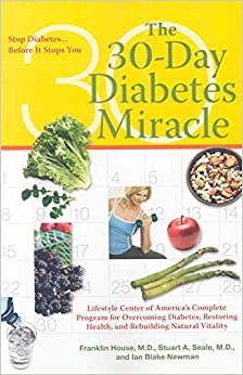 Book [30-Day Diabetes Miracle: Stop Diabetes, Before it Stops You] (By: Franklin House) [published: October, 2009]