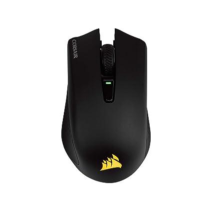 Corsair Harpoon RGB Wireless Gaming Mouse-Backlit RGB LED, 10000 DPI,  Optical - Black
