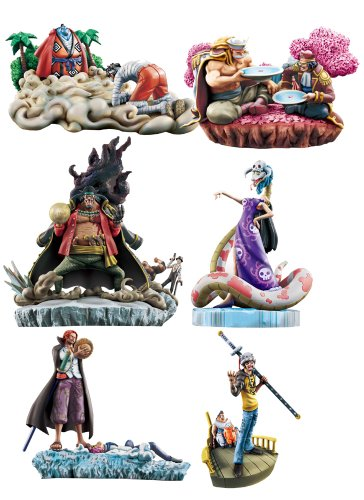 One Piece: LOG BOX Marineford Vol. 2 Trading Figures (Display of 6)