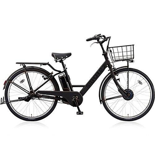 ブリヂストン(BRIDGESTONE) 18年モデル ステップクルーズ ST6B48 26インチ 電動アシスト自転車 専用充電器付 B075ZXP92Y T.Xクロツヤケシ T.Xクロツヤケシ