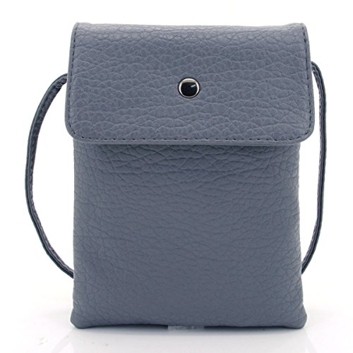u-times-womens-small-embossed-pu-leather-smart-phone-holder-pouch-single-shoulder-travel-pursedark-g
