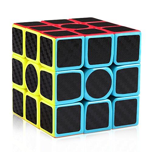 Coogam Zcube Carbon Fiber Cube 3x3 Speed Cube Puzzle Toy
