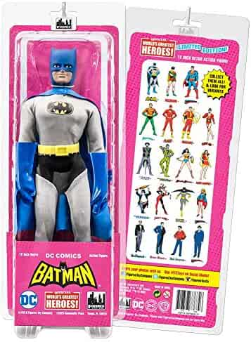 Batman Retro Action Figures Series Pamela Isely Dress Variant
