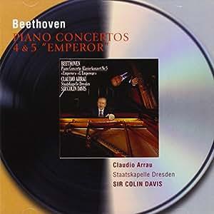 """Piano Concertos 4 & 5 """"Emperor"""""""