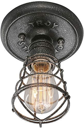 Troy Lighting Conduit 1-Light Flush Mount - Old Silver ()