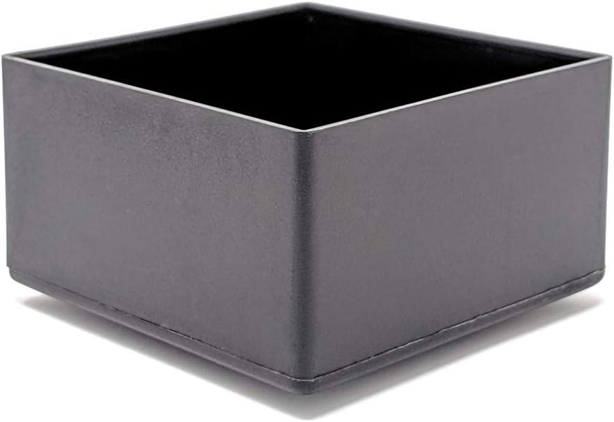 Made in Germany 20x20mm, 4 St/ück Quadratische und rechteckige Endkappen aus Kunststoff siehe das zweite Bild f/ür die Gr/ö/ße