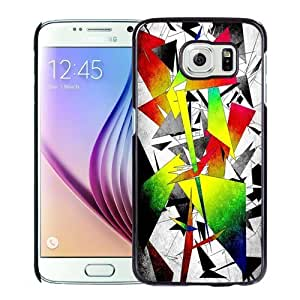 New Personalized Custom Designed For Samsung Galaxy S6 Phone Case For Colored Abstract Geometries Phone Case Cover