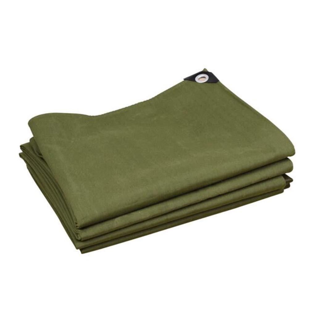 DALL ターポリン タープ 厚い 防水 アウトドア オーニング 日焼け止め マルチサイズ 引裂抵抗 (色 : 緑, サイズ さいず : 3×5m) 3×5m 緑 B07KZWBDD3