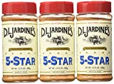 Jardines 5 Star Ranch Rub and Tenderizer, 13.75-Ounce (Pack of 3)