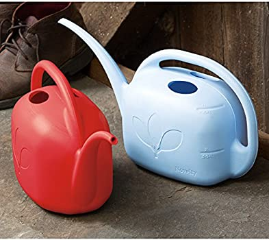 2 Count - Red Red Indoor Watering Can 1 Gallon