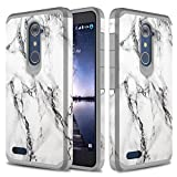 zte imperial 2 cases - ZTE Zmax Pro Case, TownShop Marble Pattern Design Hard Impact Dual Layer Shockproof Bumper Case For ZTE Grand X Max 2/ Imperial Max Z963U/ Zmax Pro/ ZTE Kirk Z988/ ZTE Max Duo 4G