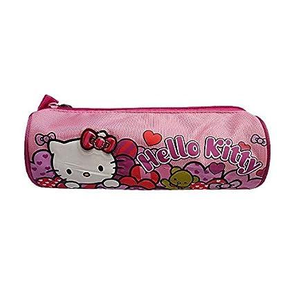 Hello Kitty - Estuche escolar Hello Kitty corazón 23 cm ...