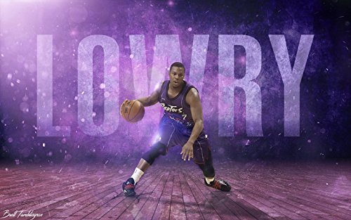 Kyle Lowry Sports Poster Photo Limited Print Toronto Raptors NBA Basketball Player Sexy Celebrity Athlete Size 16x20 #1
