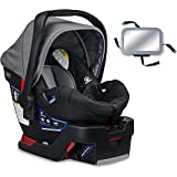Britax - B-Safe 35 Infant Car Seat with Back Seat Mirror - Dove